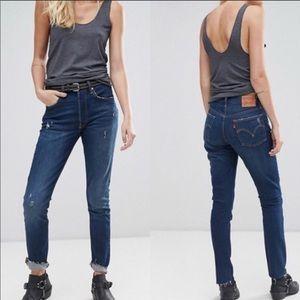 Levi's Jeans - NWT Levi's | 501 Skinny Button Fly Raw Hem Jeans